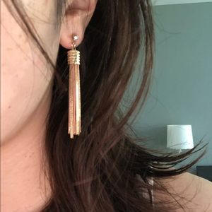Gold/ Rose gold mix Earrings